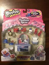 Shopkins Fashion Spree Best Dressed Collection Play Set New
