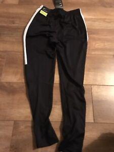 Nike Dry. Boys  Black Tracksuit Bottom. Age 12/13 Nwt