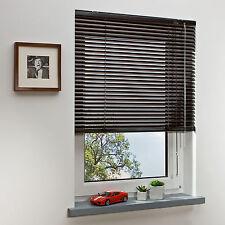Aluminium Jalousie Fenster Rollo Jalousette Vorhang mocca 240 cm x 160 cm