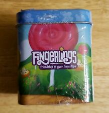 Fingerlings Tin Container with 2 Magnets, Mini Poster, 4 Stickers & 1 Fingerling