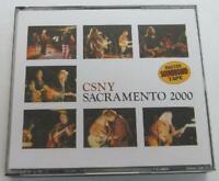 CSNY SACRAMENTO 2000 3CD CROSBY STILLS NASH & YOUNG PRESS 30TRACKS NEW