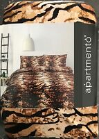 Tiger Duvet | Doona Quilt Cover Set by Apartmento | Animal Big Cat | Micro Mink