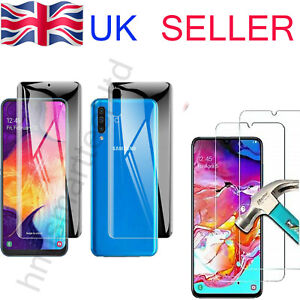 Front Back Hydrogel Screen Protector Samsung Galaxy S20 Ultra S10 S9 S8 Note 20