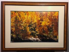 """Thomas Mangelsen Signed, Out of Print """"Fire of Autumn"""" #898, Artist Proof 95 COA"""