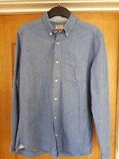 Next Men's Oxford Shirt - Blue - Size Medium - Perfect