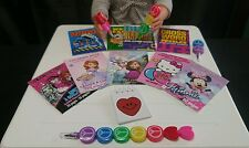 """Coloring & Activity Book Valentine's Day Themed Set fits 18"""" American Girl Dolls"""