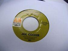 Joe Cocker Feeling Alright/Sandpaper Cadillac 45 RPM A&M Records EX