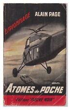 FLEUVE NOIR ESPIONNAGE N°   298 ATOMES EN POCHE A. PAGE EO  1961 BE