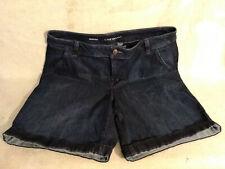 Lane Bryant Woman's Denim Bermuda Shorts Size 20 EUC Women's