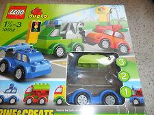 Lego Duplo 10550 Combine & Create Creative Cars - Opened