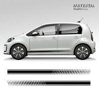 Volkswagen VW UP! Car Side Stripes Graphics Stickers Decals - Citigo Mii e-up!