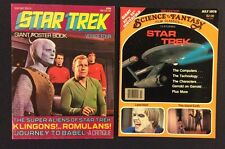 STAR TREK Giant Poster Book #4 1976 SCIENCE FANTASY FILM CLASSICS Magazine 1978
