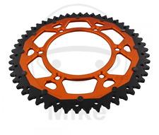 KTM dual Kettenrad orange schwarz für Lc4 EXC SX SXF 49 Zähne