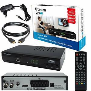 Strom TNT 504 Démodulateur DVB-T2 récepteur terrestre HD Compatible MPEG-4