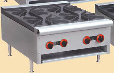New Gas Counter Top Hot Plate 4 Burner.