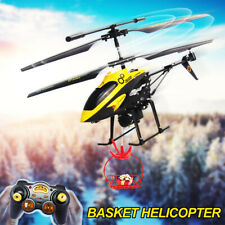 V388 3.5CH Gyro Helicopter RTF Remote Control Airplane + Red Basket  Kids& Adult