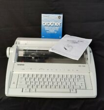 Brother AX-100 Electric Typewriter Good Working Condition Clean Retro