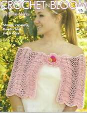CROCHET IN BLOOM SHRUGS, CAPELETS, FLOWERS AND MORE