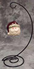 Collectible Ceramic Santa Ornament