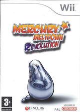 MERCURY MELTDOWN REVOLUTION for Nintendo Wii - with box & manual - PAL
