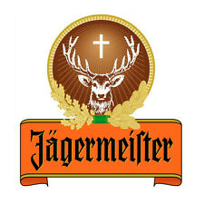 "Jagermister Vinyl Sticker Decal 6"" (full color)"