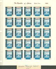 LIBERIA - #347-9, #C88-90var, 1955 Sports Set in Special Colors