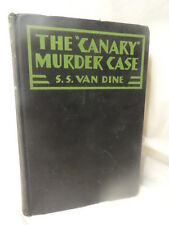 1927 The Canary Murder Case Photoplay Mystery S S Van Dine Vintage Hardcover
