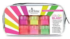 EzFlow Design Colored Acrylic Powders Color Blast Kit # 59096