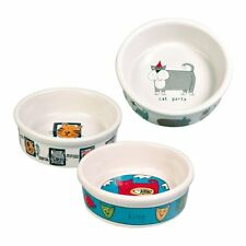 Trixie Cat bowl -Ceramic Cat Bowl (4008) different patterns