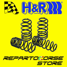 KIT 4 MOLLE SPORTIVE H&R HR -30mm Fiat 500 1.4 Abarth T-Jet SS omologate TUV