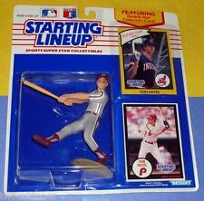 1990 VON HAYES Philadelphia Phillies -FREE s/h - Starting Lineup 1982 bonus card