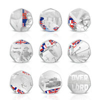 D-Day 75th Anniversary Silver Collectable Commemorative Coin Collection