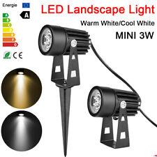 Outdoor MINI 3W LED Garden Landscape Light Flood Spot Path Lighting Warm White