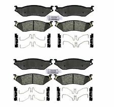 Front Rear Semi-Metallic Brake Pad Set Kit ACDelco PRO For Ford w/ 10 Lug Wheels