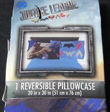Dc Comics Justice League Reversible Pillowcase boys bedding new