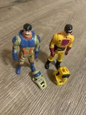 2  Vtg M.A.S.K. Figures Kenner Brad Turner Julio Lopez Loose Toys