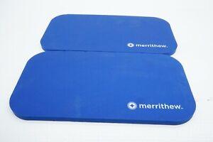 "2 Pcs New Genuine MERRITHEW Eco-Friendly Pilates Pad ST-02101 14"" x 7.5"" x 0.5"""