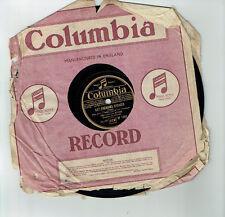 78T Mlle Lucienne BOYER Vinyle Phonographe LES PRENOMS EFFACES -COLUMBIA DF 1950