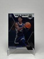 2019-20 Panini Mosaic JA MORANT NBA Debut Base Rookie RC #274 Memphis Grizzlies