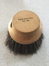 Vintage Round Horse Hair Brush F.P.I Inc EUC