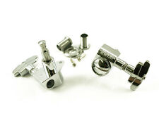 Genuine Grover 109C Super Rotomatic 3x3 tuners, Imperial Buttons,Chrome