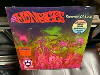 The Monkees Summer Of Love LP Rhino 2017 PINK GREEN colored Vinyl NEW Davy Jones