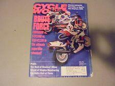 MAY 1992 CYCLE WORLD MAGAZINE,MOTO GUZZI DAYTONA 1000,CBR900RR,FZR1000,GSX-R1100