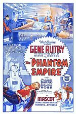 The Phantom Empire 1935 Mascot serial in case with artwork Gene Autry Ships Free