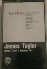 James Taylor James Taylo's greatest hits cassette tape