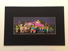 The Simpsons Movie - Unnumbered Limited Edition Pix-cel (Unframed) with COA