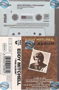 EDDY MITCHELL FAN ALBUM cassette K7 tape RCA PK 70408