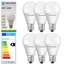 6 x Ampoule LED E27 10W 810Lumens