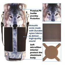 ECHO CASE FOR AMAZAN ALEXA BLUETOOTH SPEAKER TRAVEL CARRYING STRAP COVER WOLF