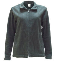 Nike Fleece Womens Long Sleeve Full Zip Casual Jumper Grey 222457 071 P4